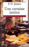 """Couverture du livre : """"Une certaine justice"""""""