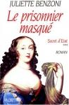 """Couverture du livre : """"Le prisonnier masqué"""""""