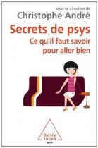 """Couverture du livre : """"Secrets de psys"""""""