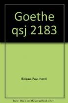 """Couverture du livre : """"Goethe"""""""