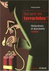 """Couverture du livre : """"Qui sont les terroristes ?"""""""