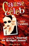 """Couverture du livre : """"Cause céleb'"""""""