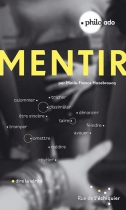 """Couverture du livre : """"Mentir"""""""