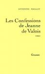 """Couverture du livre : """"Les confessions de Jeanne de Valois"""""""