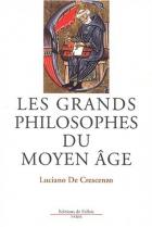 """Couverture du livre : """"Les grands philosophes du Moyen Âge"""""""