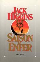 """Couverture du livre : """"Saison en enfer"""""""