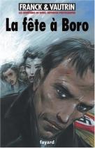 """Couverture du livre : """"La fête à Boro"""""""