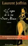 """Couverture du livre : """"L'énigme de la rue Saint-Nicaise"""""""