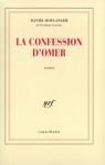 """Couverture du livre : """"La confession d'Omer"""""""