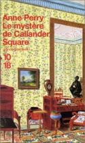 """Couverture du livre : """"Le mystère de Callander Square"""""""