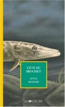 """Couverture du livre : """"L'été du brochet"""""""