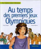 """Couverture du livre : """"Au temps des premiers Jeux olympiques"""""""