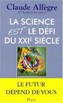 """Couverture du livre : """"La science est le défi du XXIe siècle"""""""