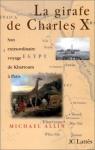 """Couverture du livre : """"La girafe de Charles X"""""""