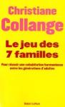 """Couverture du livre : """"Le jeu des 7 familles"""""""