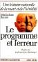 """Couverture du livre : """"Le programme et l'erreur"""""""