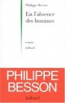 """Couverture du livre : """"En l'absence des hommes"""""""