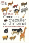 """Couverture du livre : """"Comment chatouiller un chimpanzé"""""""