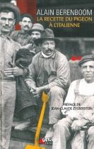 """Couverture du livre : """"La recette du pigeon à l'italienne"""""""