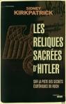 """Couverture du livre : """"Les reliques sacrées d'Hitler"""""""