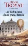 """Couverture du livre : """"Les turbulences d'une grande famille"""""""