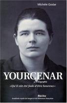 """Couverture du livre : """"Yourcenar"""""""