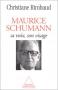 """Couverture du livre : """"Maurice Schumann"""""""