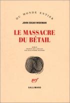 """Couverture du livre : """"Le massacre du bétail"""""""