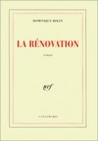 """Couverture du livre : """"La rénovation"""""""
