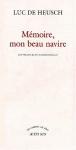 """Couverture du livre : """"Mémoire, mon beau navire"""""""
