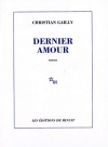 """Couverture du livre : """"Dernier amour"""""""