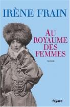 """Couverture du livre : """"Au royaume des femmes"""""""