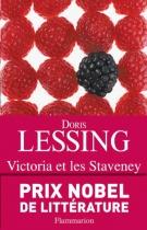 """Couverture du livre : """"Victoria et les Staveney"""""""