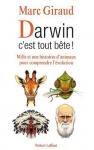 """Couverture du livre : """"Darwin c'est tout bête !"""""""