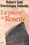 """Couverture du livre : """"La pierre de Rosette"""""""