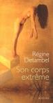 """Couverture du livre : """"Son corps extrême"""""""