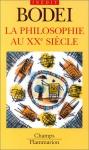 """Couverture du livre : """"La philosophie au XXe siècle"""""""