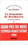 """Couverture du livre : """"La neuvième de Beethoven"""""""