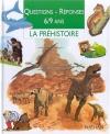 """Couverture du livre : """"La préhistoire"""""""