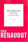 """Couverture du livre : """"Mémoires de porc-épic"""""""