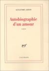 """Couverture du livre : """"Autobiographie d'un amour"""""""