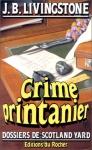 """Couverture du livre : """"Crime printanier"""""""