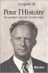 """Couverture du livre : """"Pour l'histoire"""""""