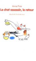 """Couverture du livre : """"L'anniversaire du chat assassin"""""""