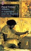 """Couverture du livre : """"Affaires et scandales sous les Ramsès"""""""