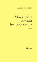 """Couverture du livre : """"Marguerite devant les pourceaux"""""""