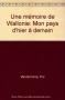 """Couverture du livre : """"Une mémoire de Wallonie"""""""