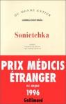 """Couverture du livre : """"Sonietchka"""""""