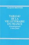 """Couverture du livre : """"Tableau de la vie littéraire en France"""""""