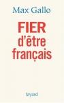 """Couverture du livre : """"Fier d'être français"""""""
